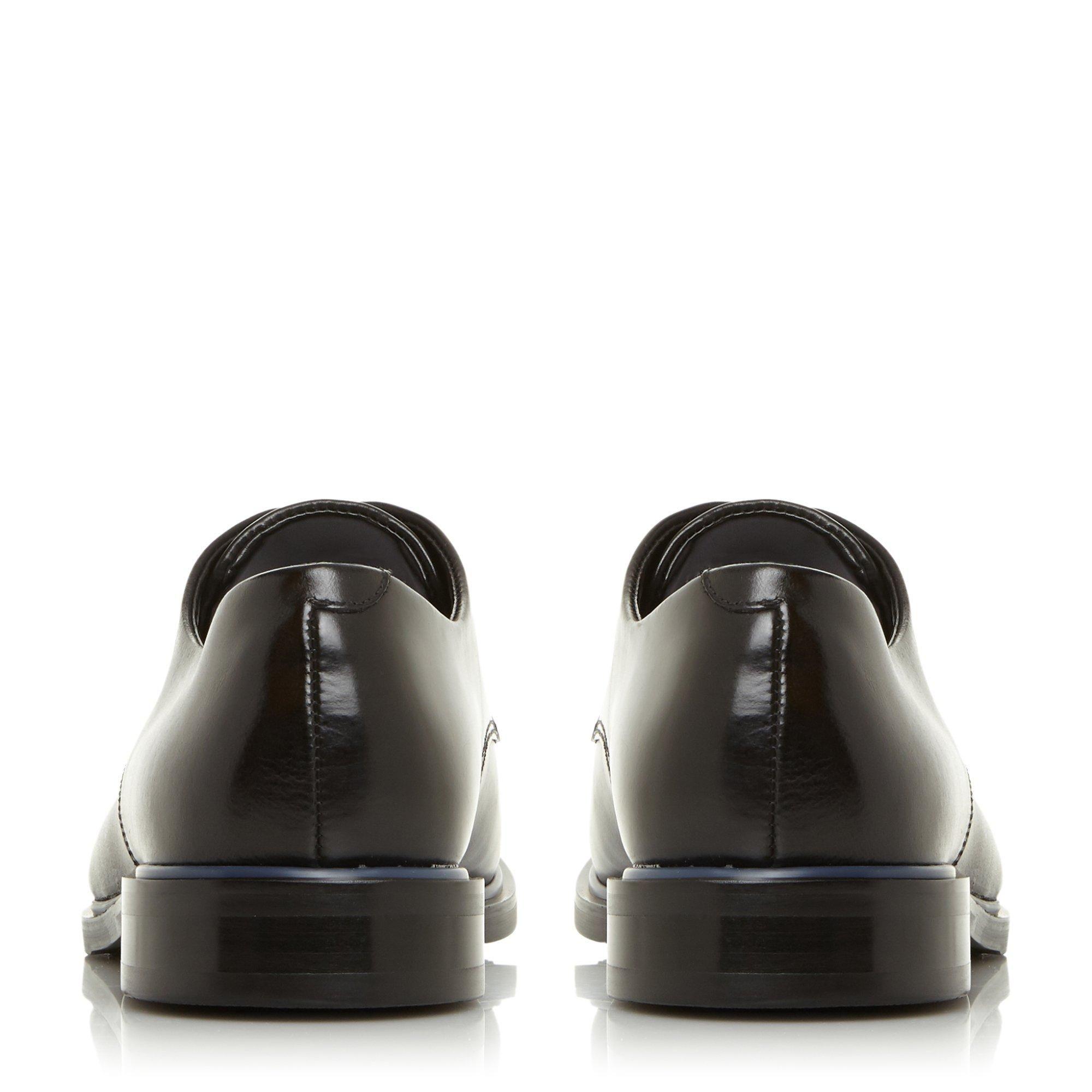 Dune Mens SYMPHONYS Contrast Trim Smart Gibson Shoes