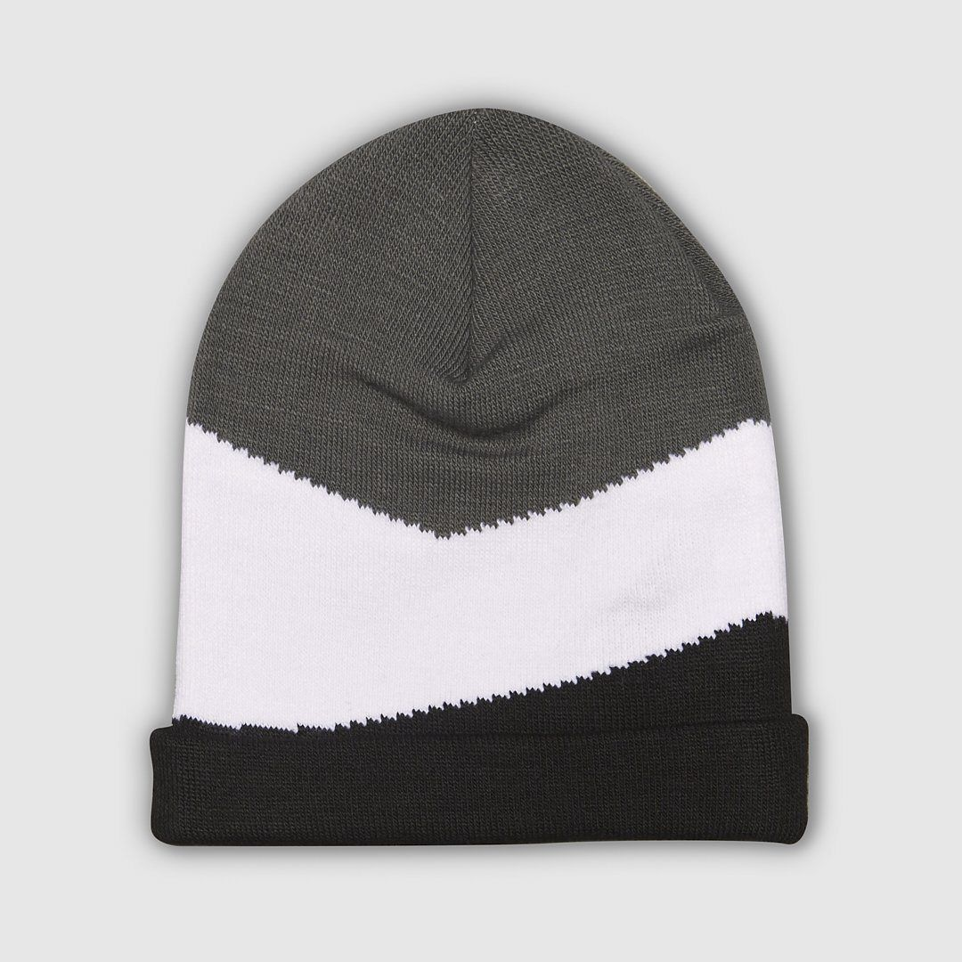 Panel Knitted Beanie