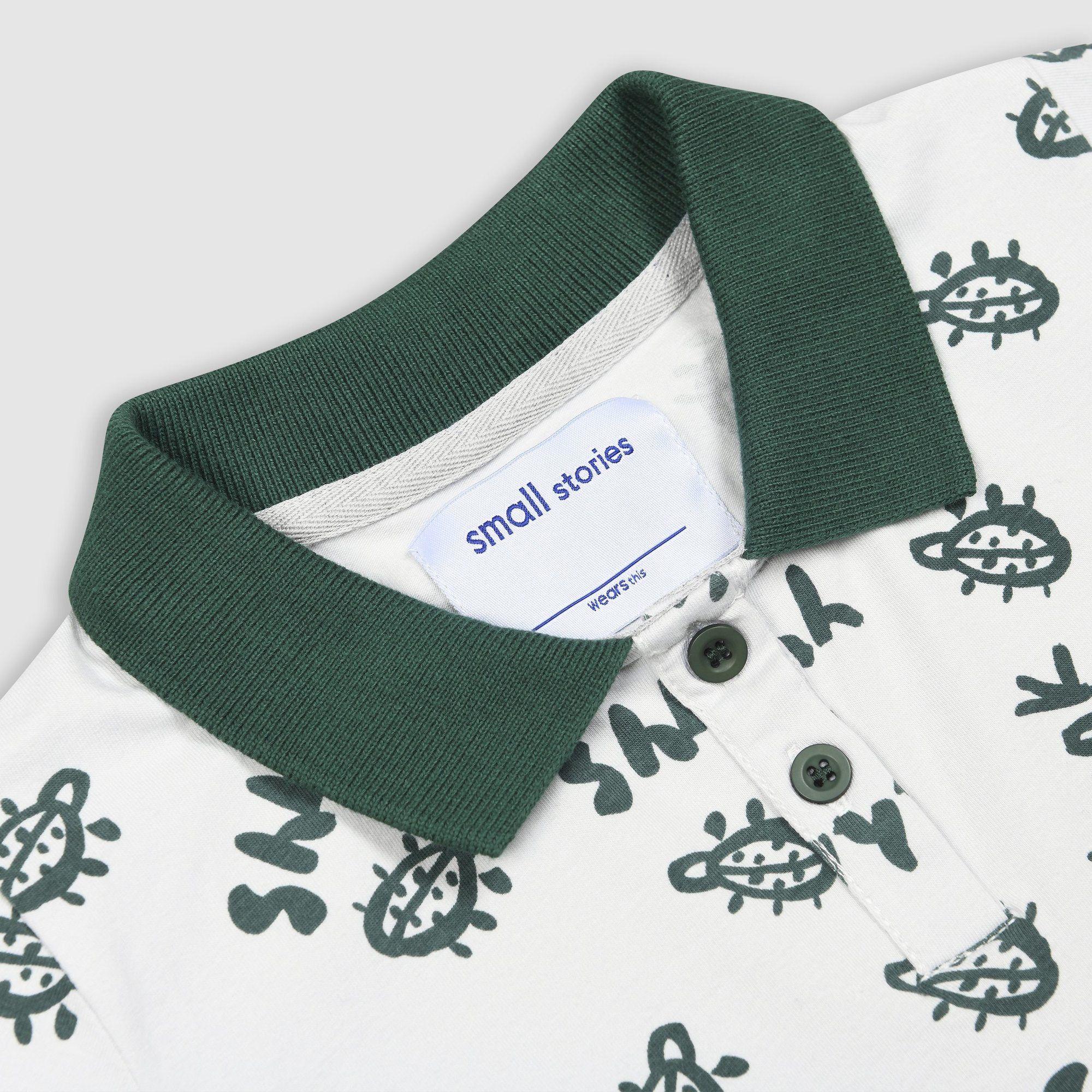 Painted Bug Polo Shirt