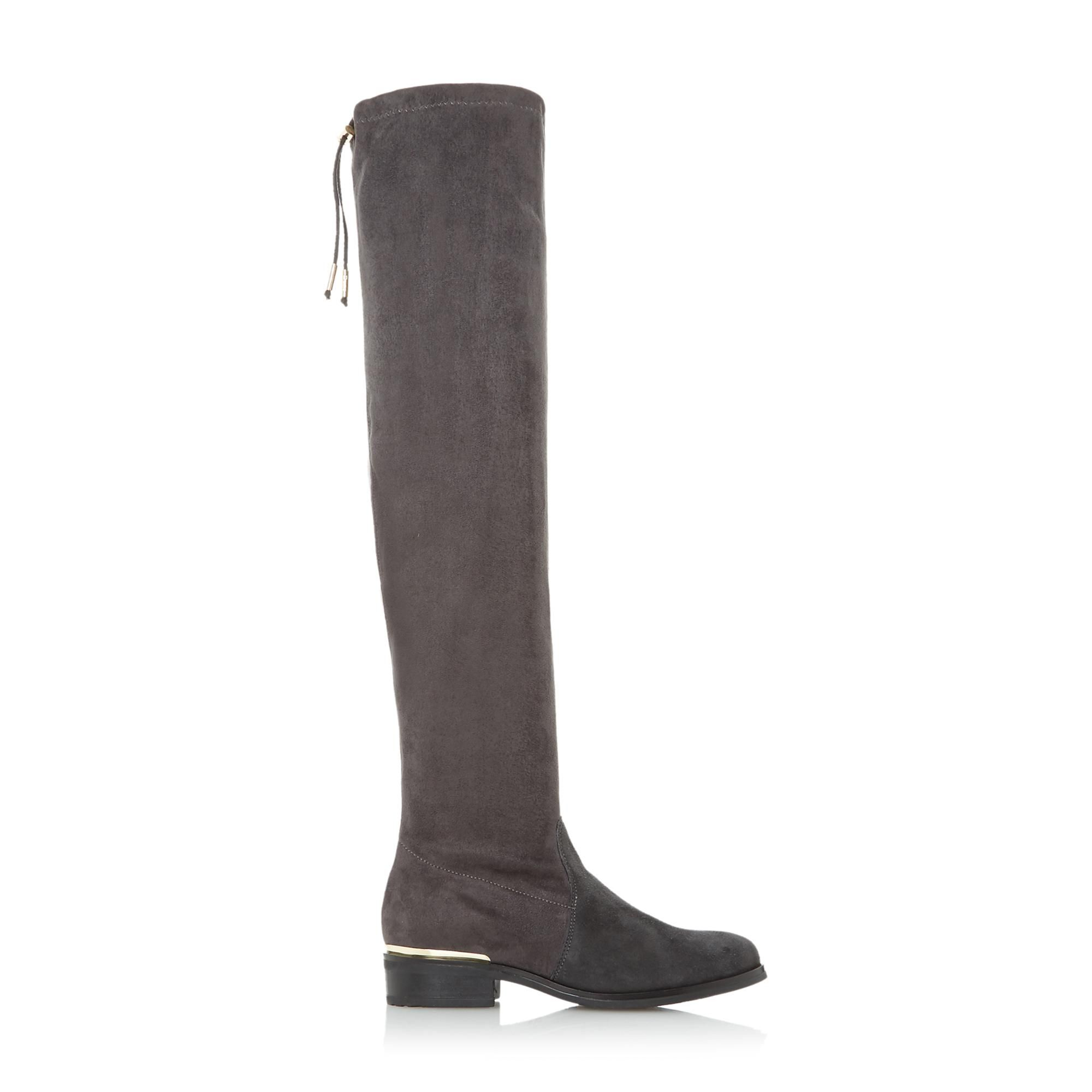 Dune Ladies TALIAH Pull On Over The Knee Boots