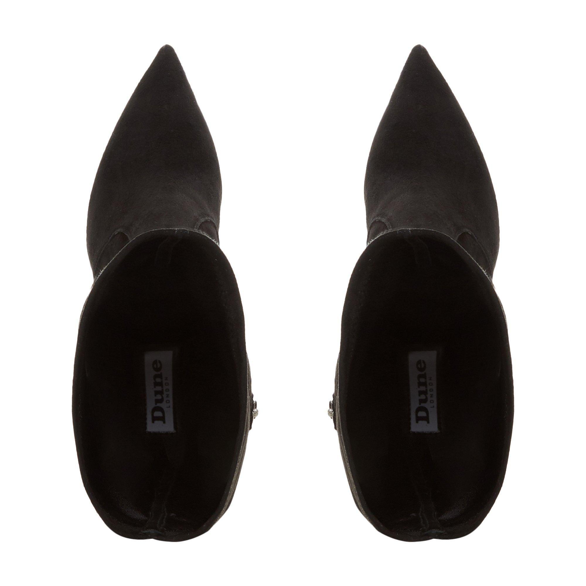 Dune Ladies TAMPA Block Heel Knee High Boots
