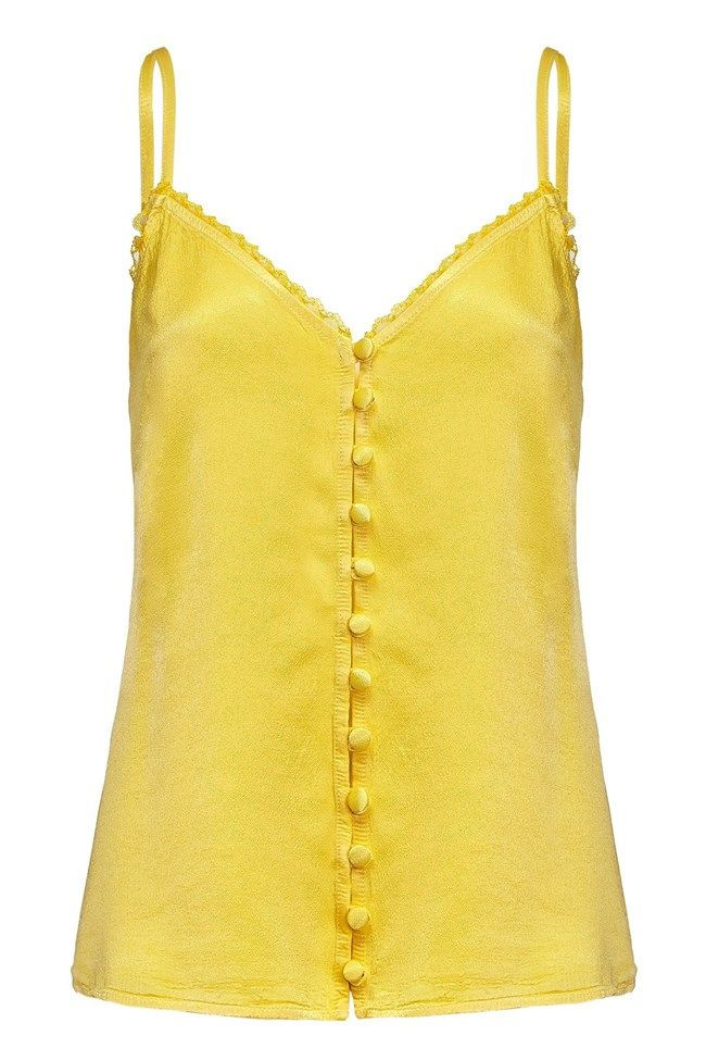 Iris Lemon Satin Cami