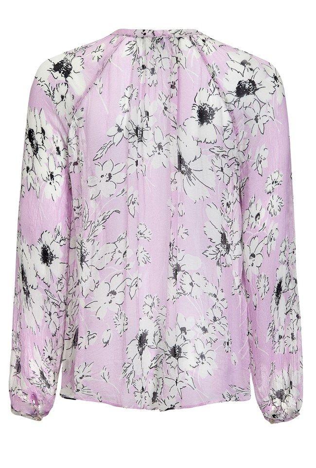 Mia Floral Print Blouse