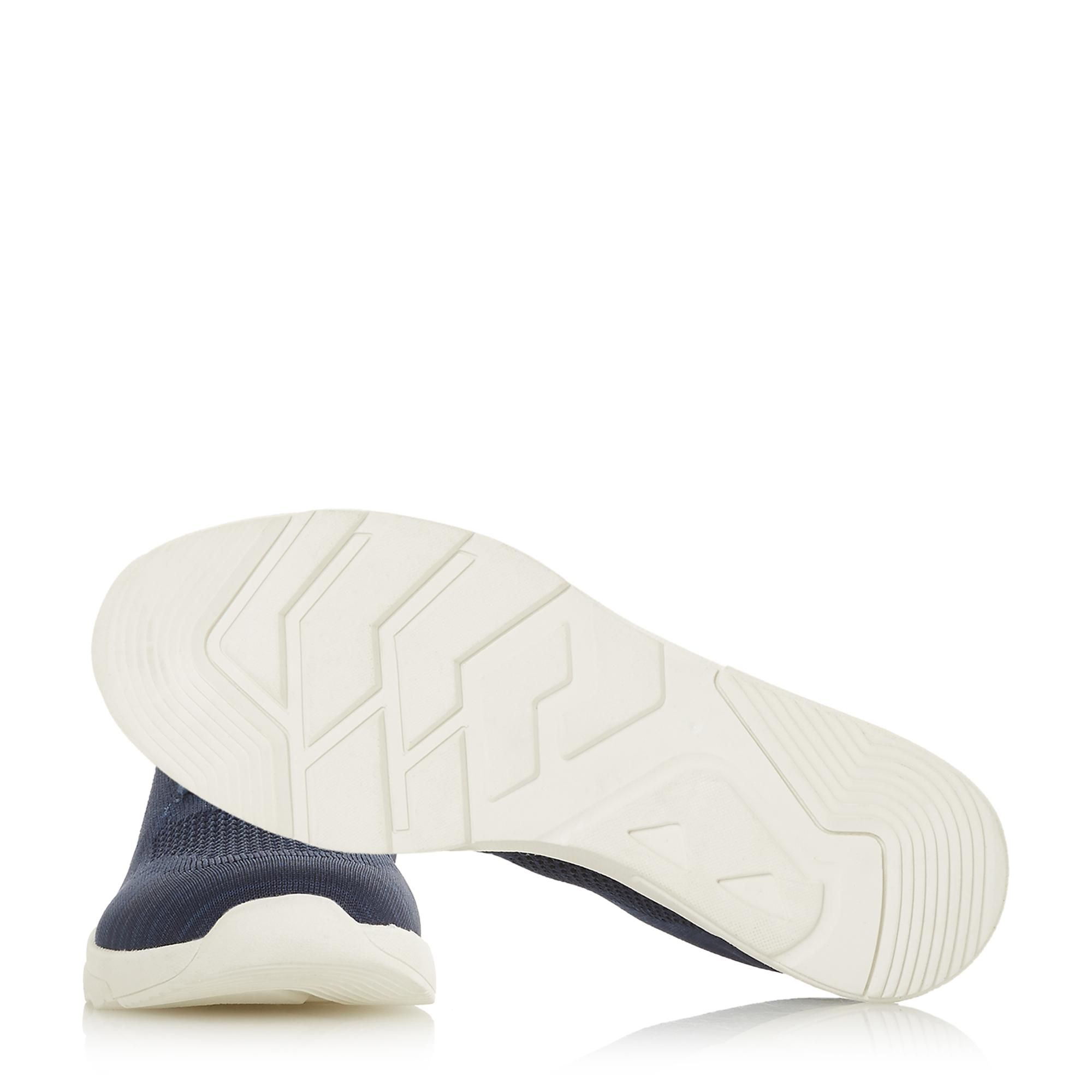 Dune Mens TORRES Knitted Upper Lace-Up Trainers