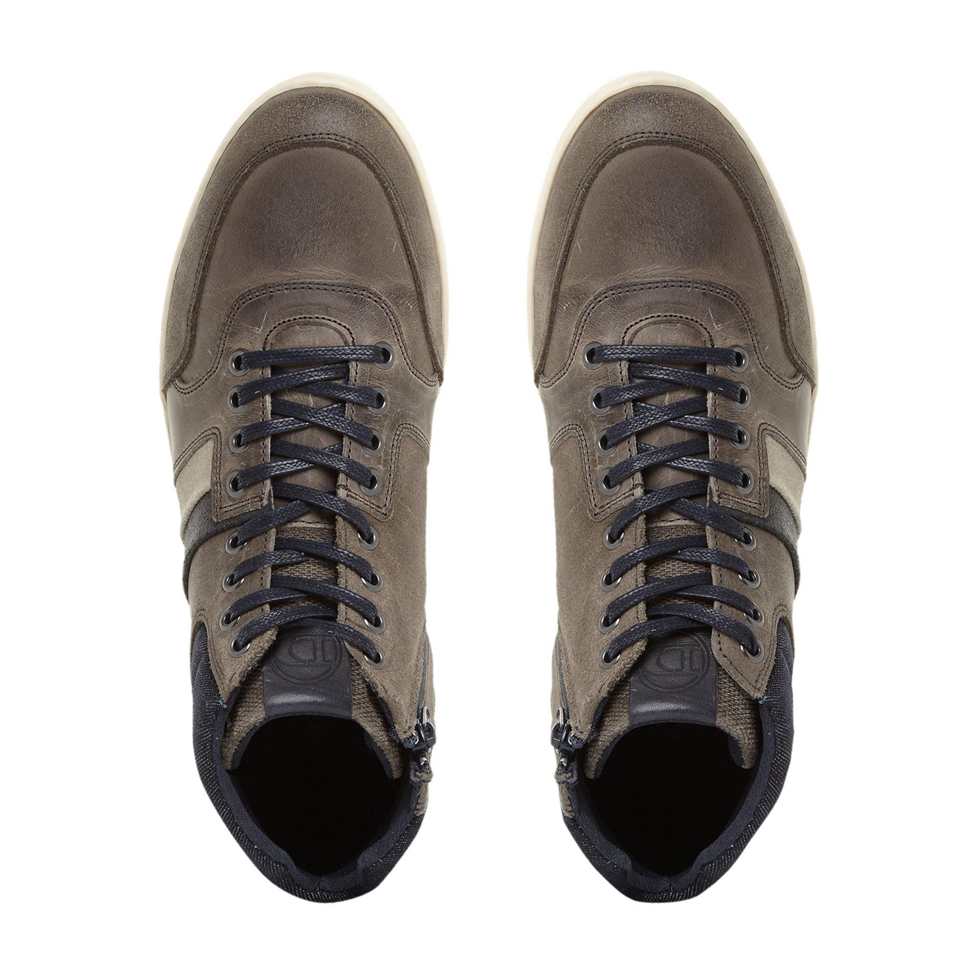 Dune Mens VOUCH High Top Trainers