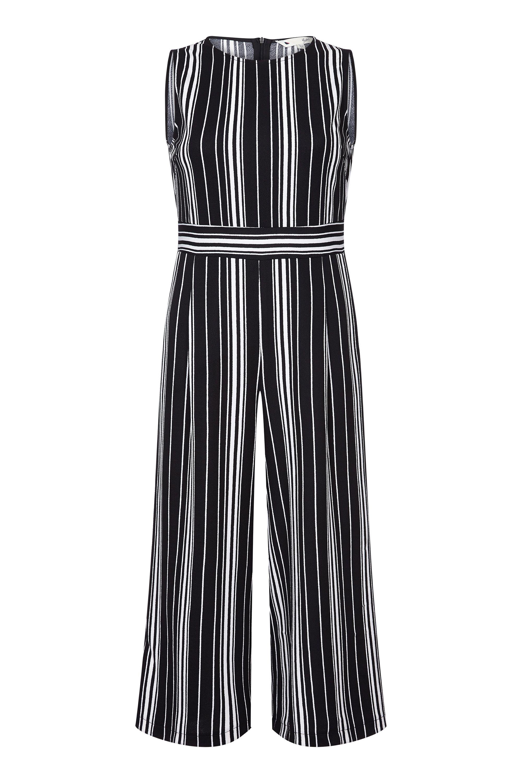 Stretch Stripe Jumpsuit