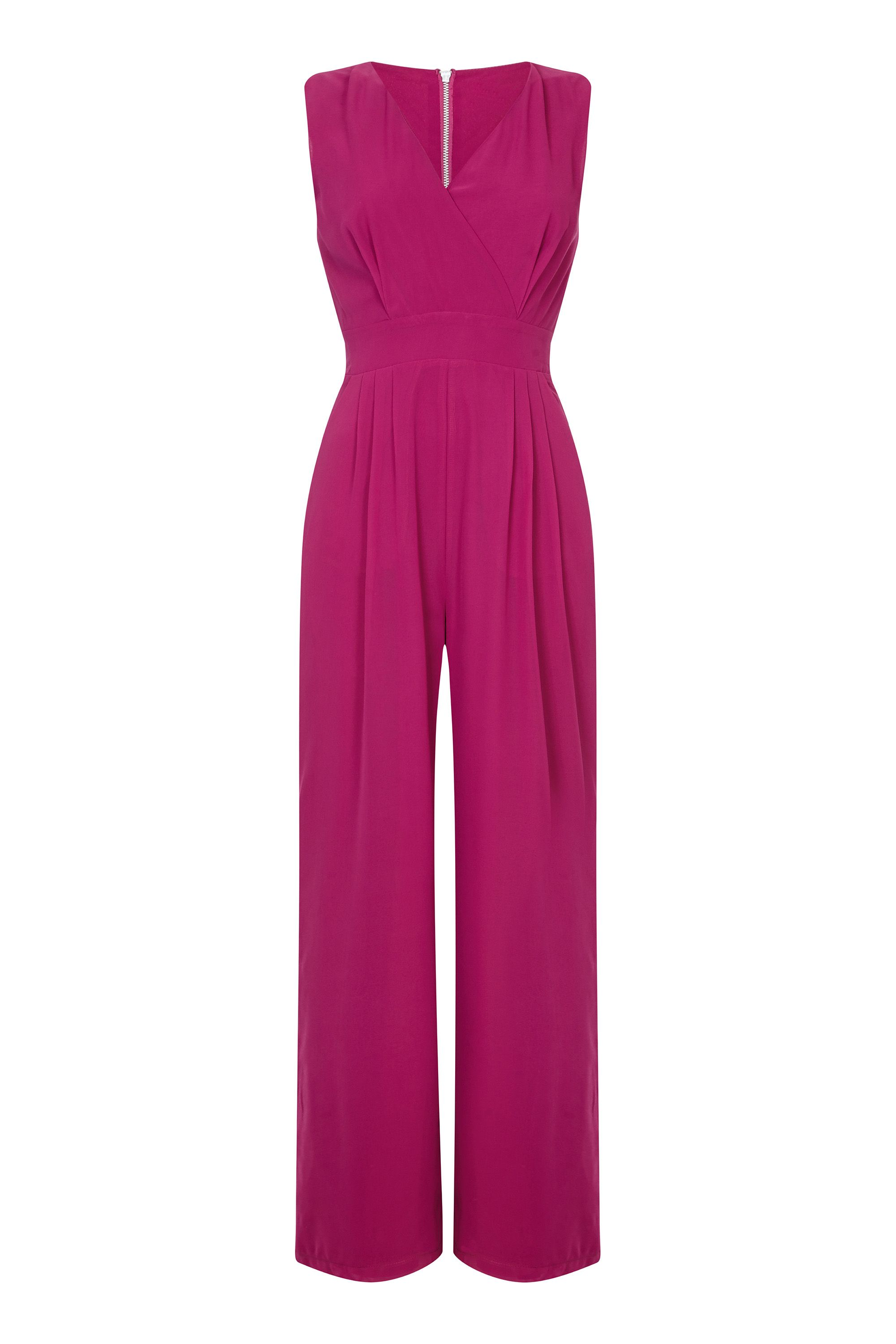 Wrap Jumpsuit With Pockets