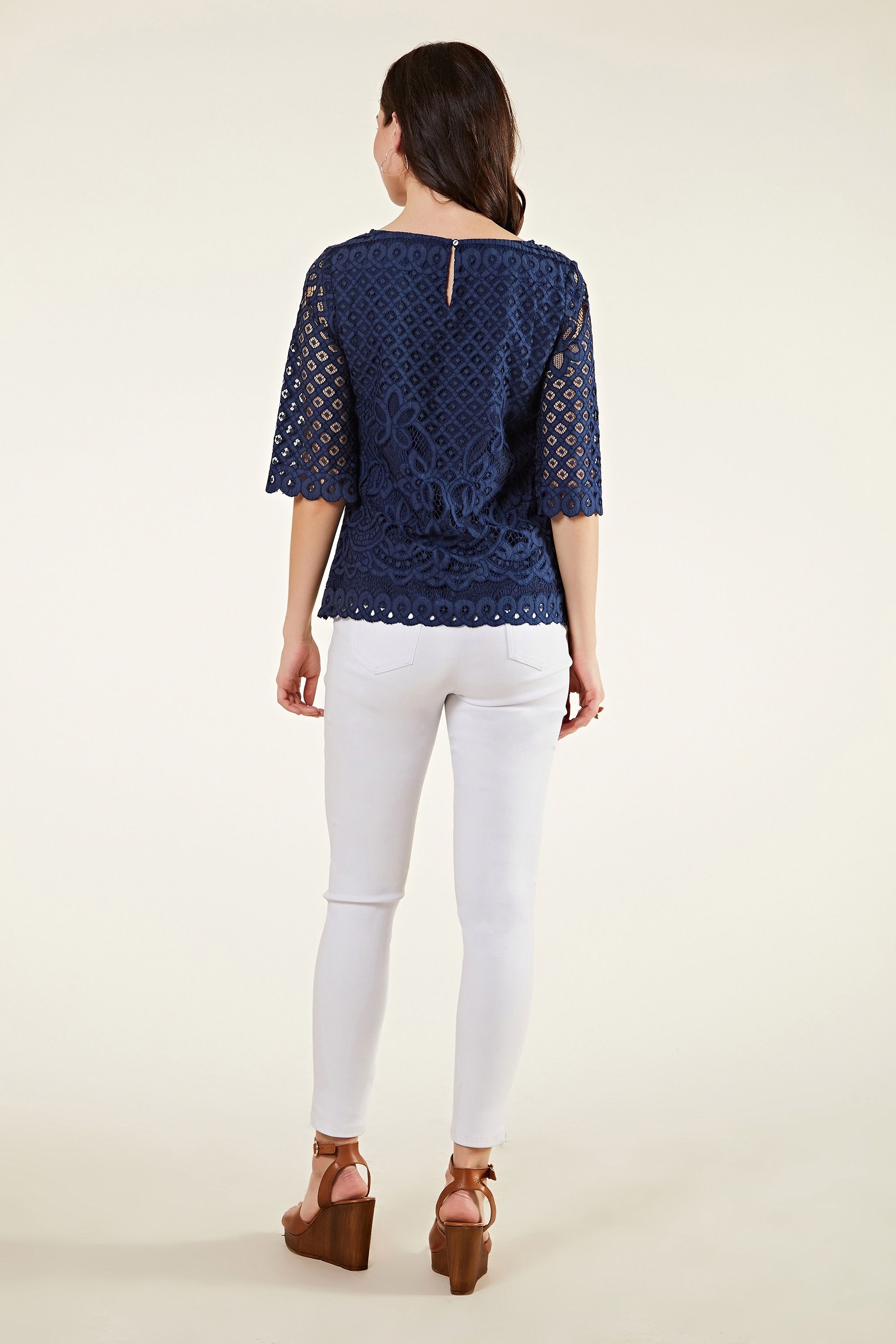Placement Lace Top