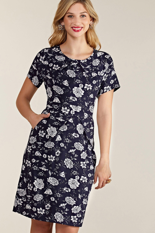 Floral Print Pocket Dress