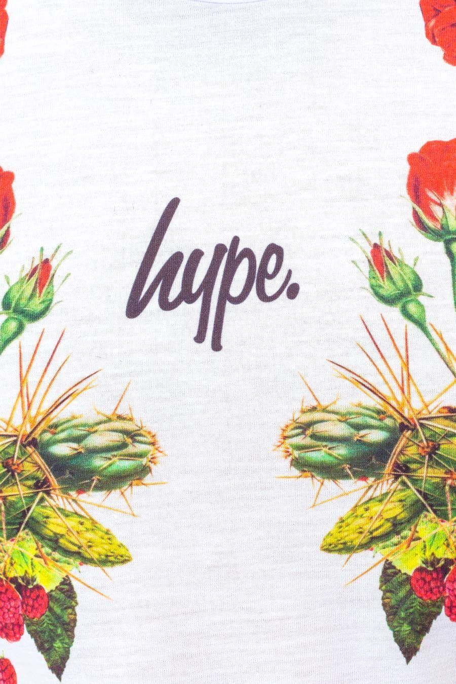 Hype Floral Symmetry Mens T-Shirt Xl