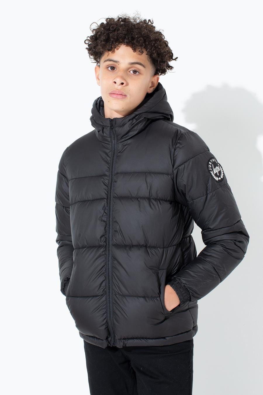 Hype Crest Sleeve Kids Puffer Jacket