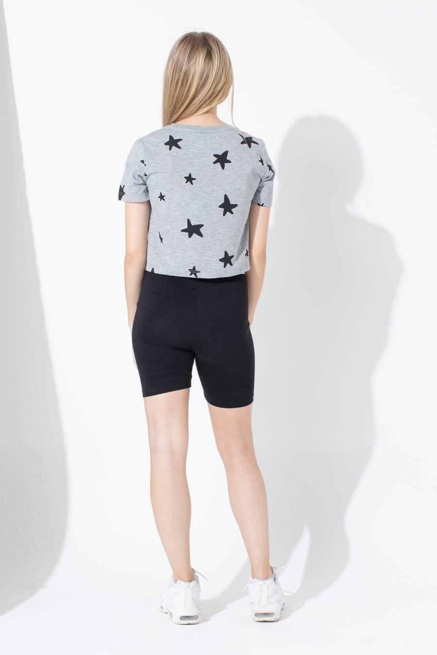 Hype Star Kids Crop T-Shirt