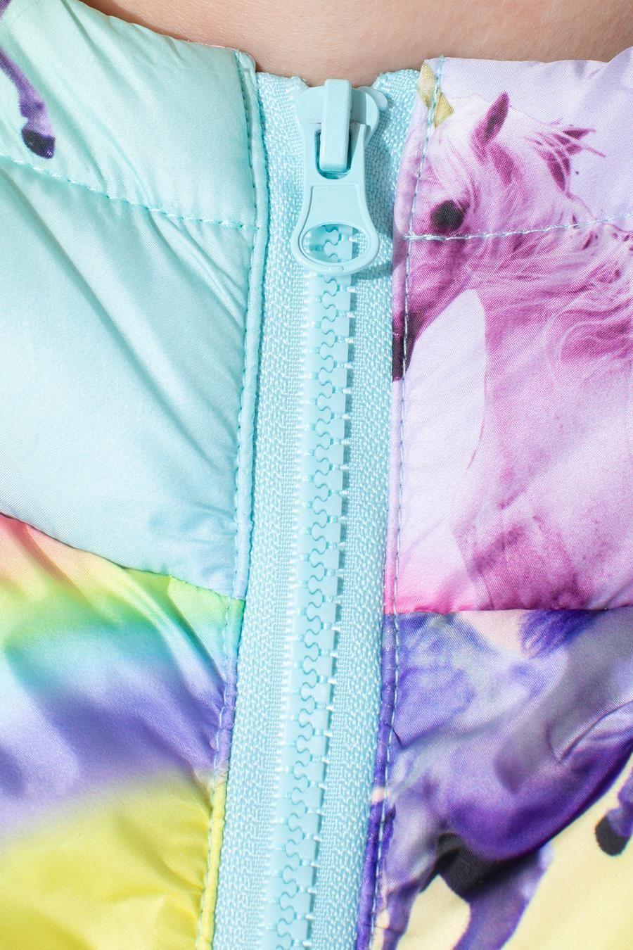 Hype Rainbow Unicorn Kids Puffer Jacket