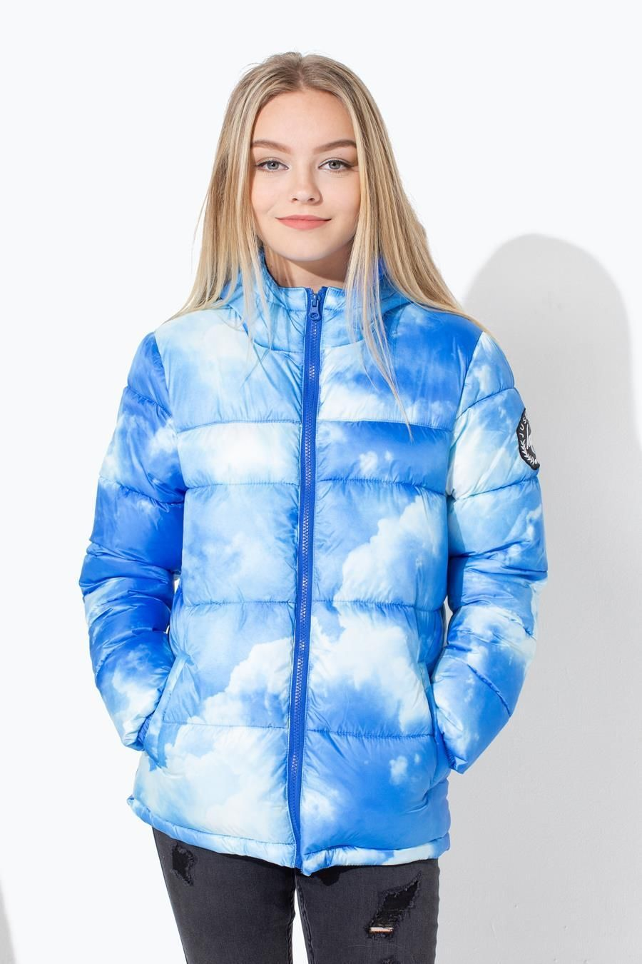 Hype Clouds Kids Puffer Jacket
