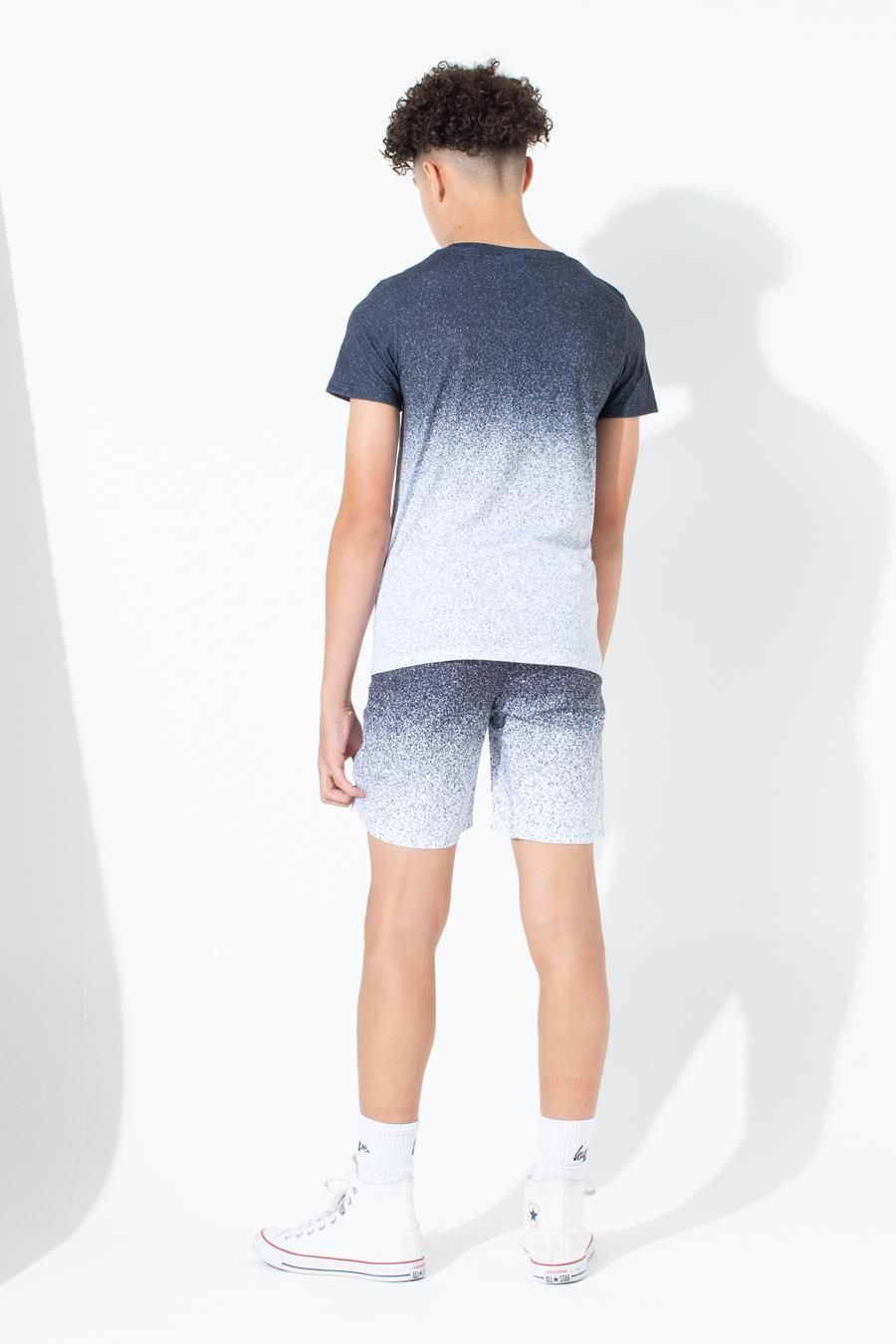 Hype Mono Speckle Fade Kids T-Shirt