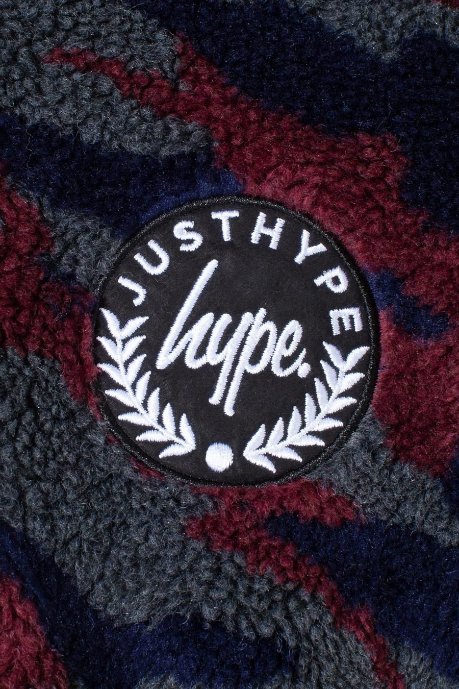 Hype Camo Sherpa Kids Pullover Hoodie 11-12Y