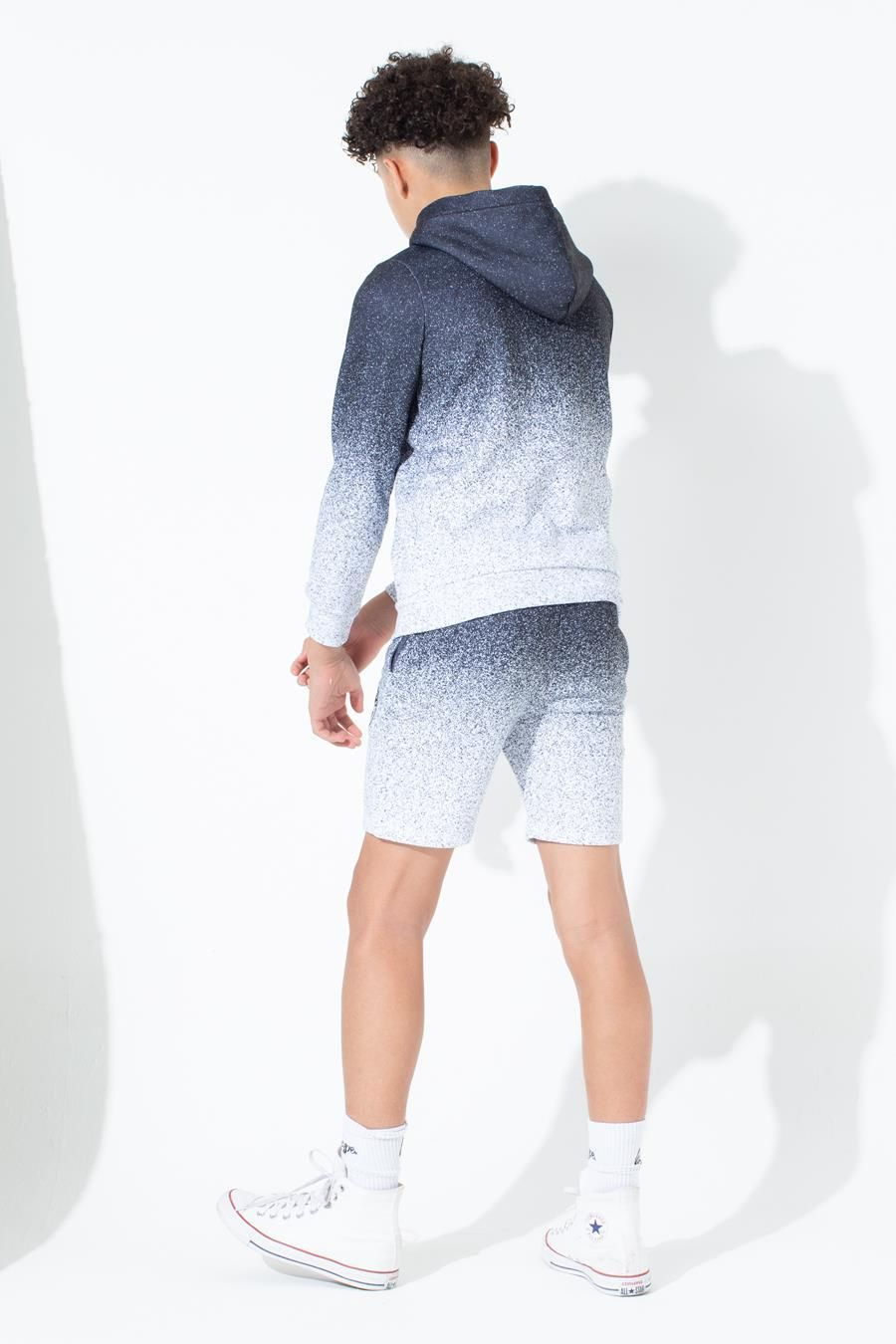 Hype Speckle Fade Kids Shorts