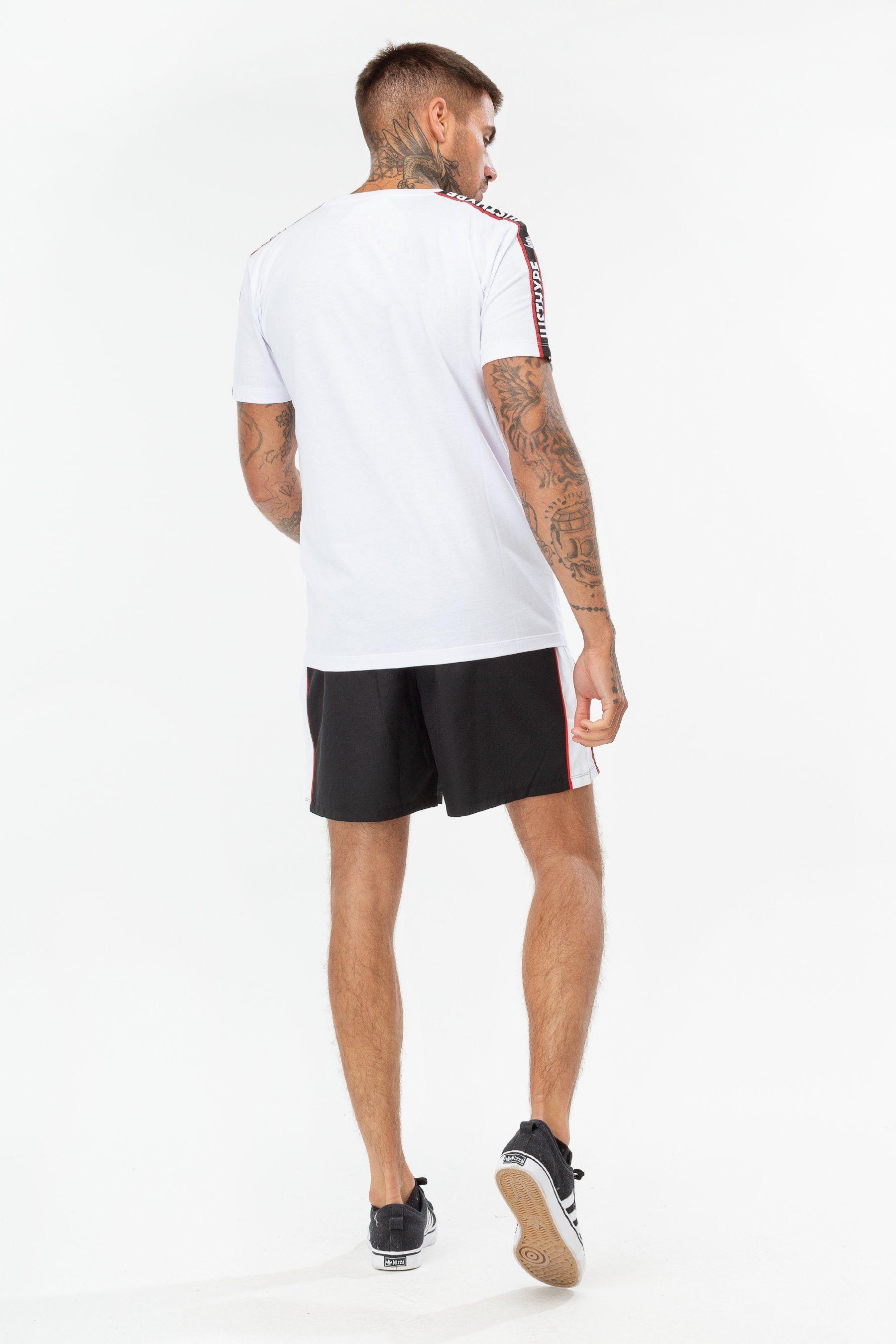 Hype White Jh Race Tape Mens T-Shirt S