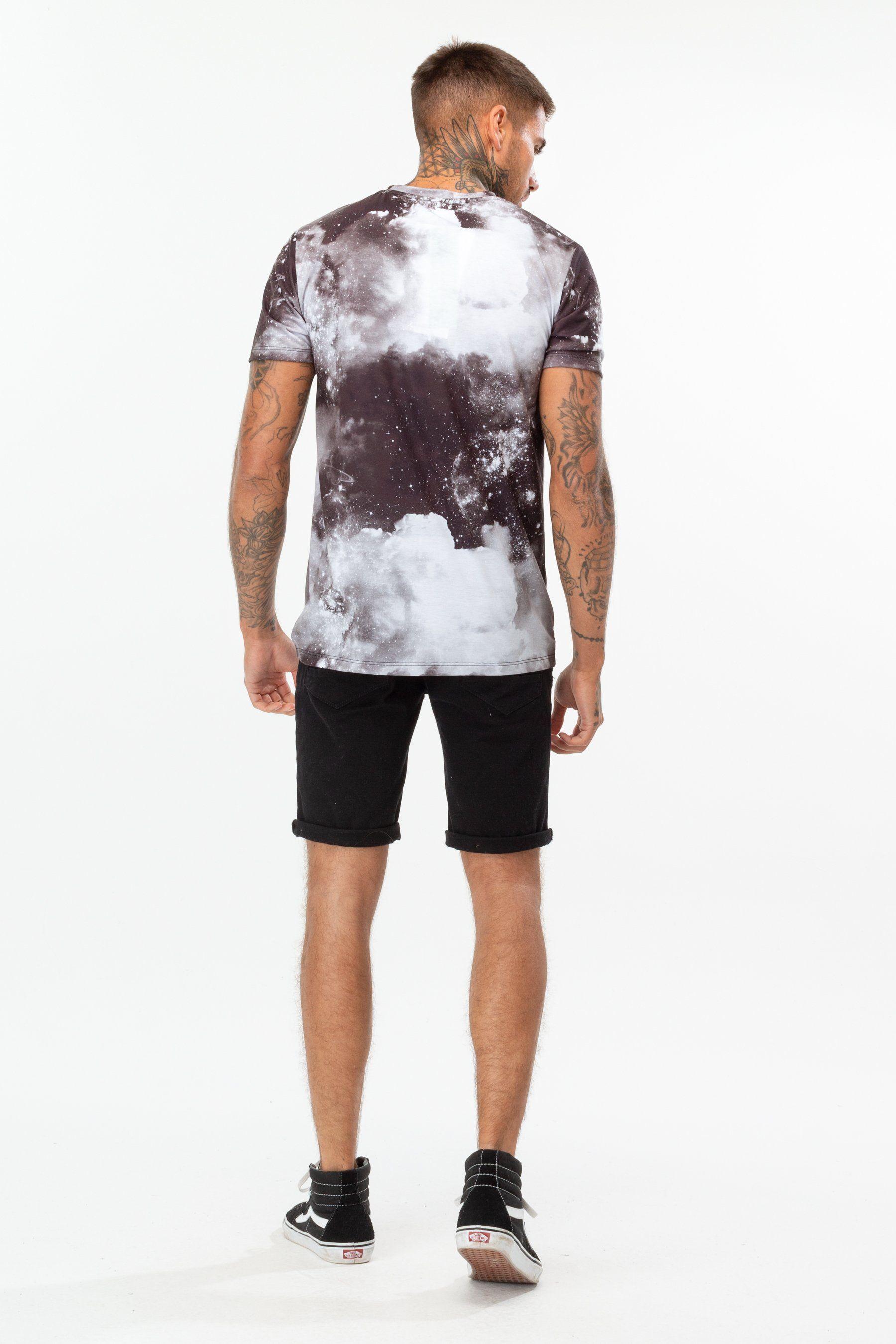 Hype Black Space Mens T-Shirt S