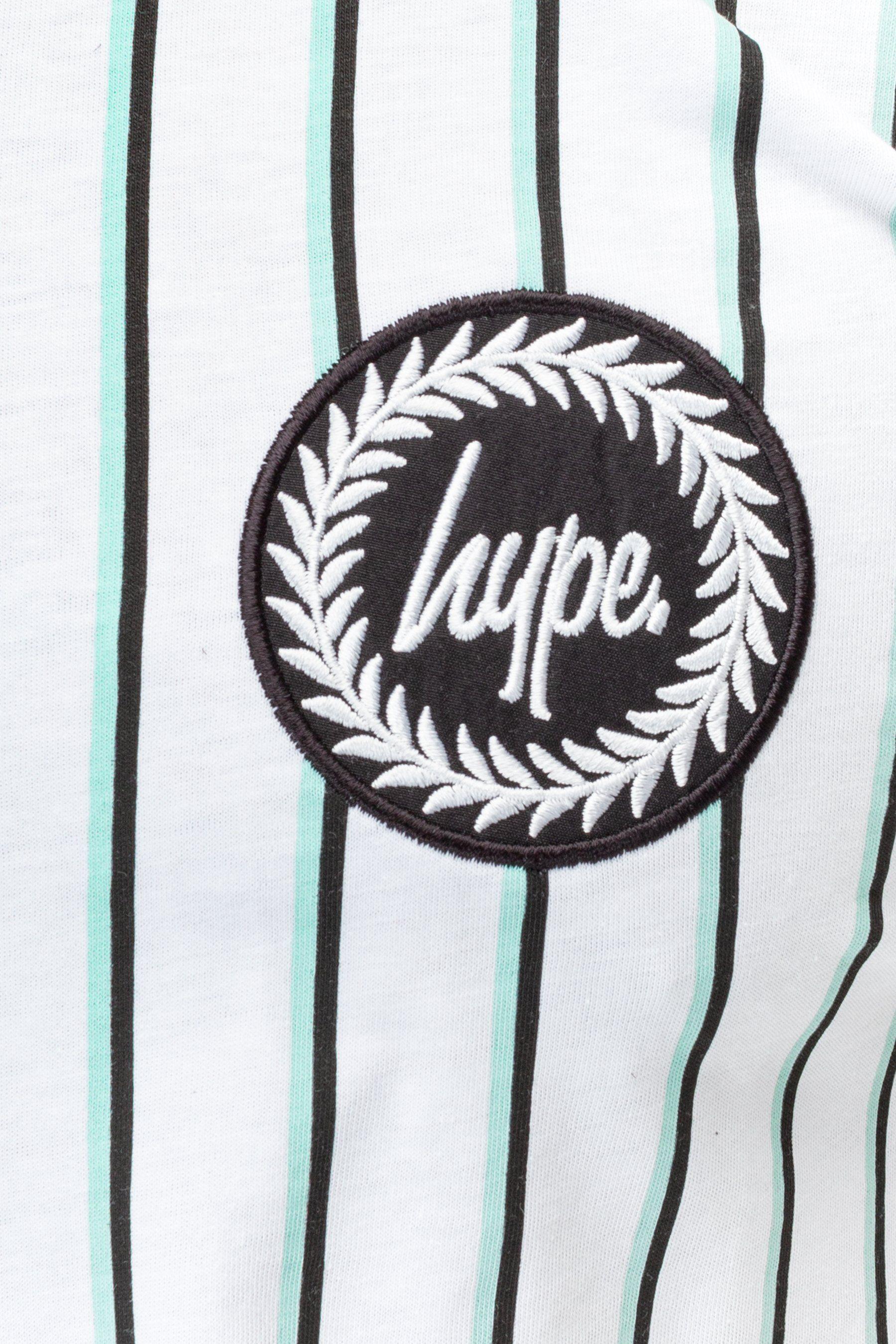 Hype Olive Stripe Mens T-Shirt