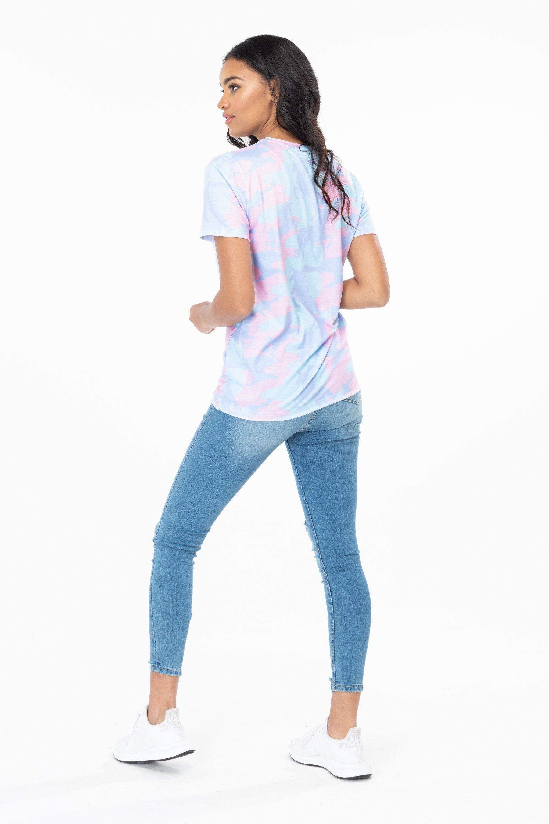 Hype Unicamo Womens T-Shirt 8