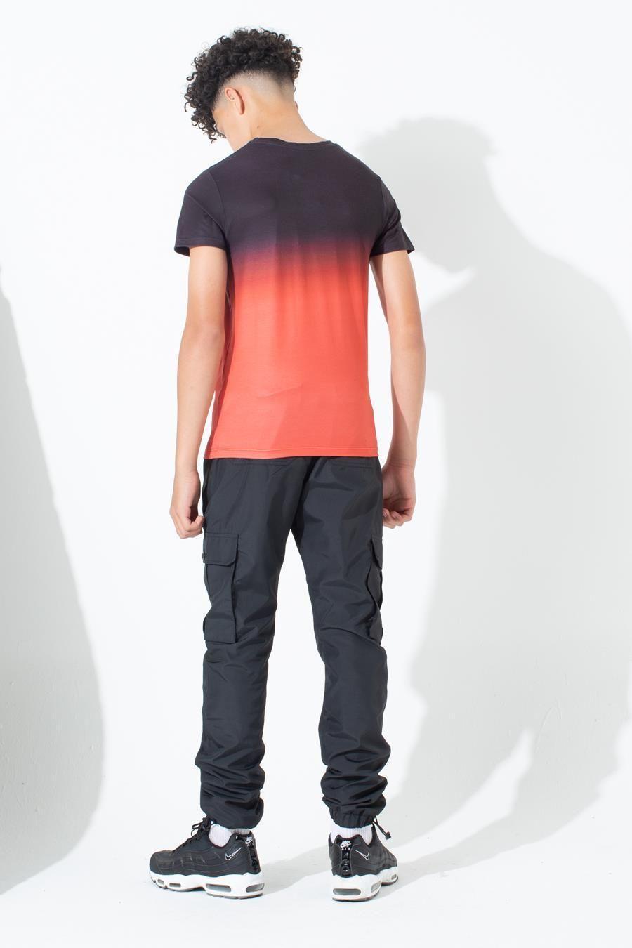 Hype Red Fade Kids T-Shirt