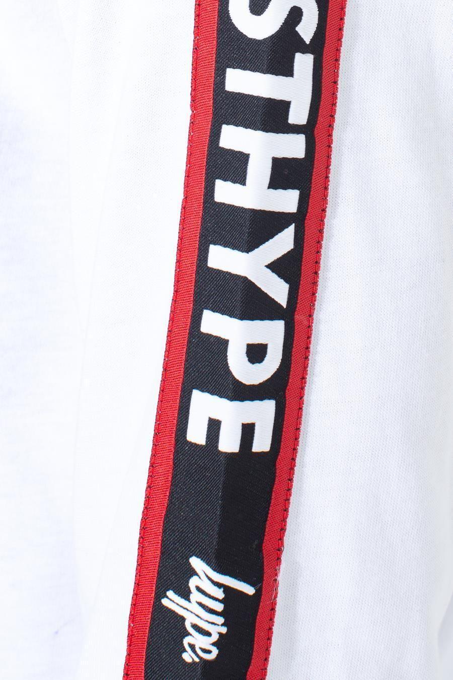 Hype Jh Race Tape Kids L/S T-Shirt 13Y