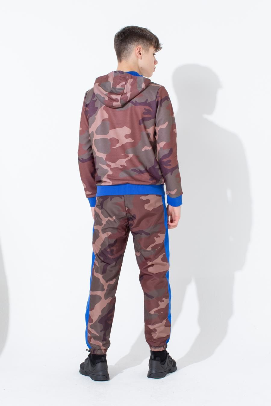HYPE NORTHERN CAMO KIDS PULLOVER HOODIE