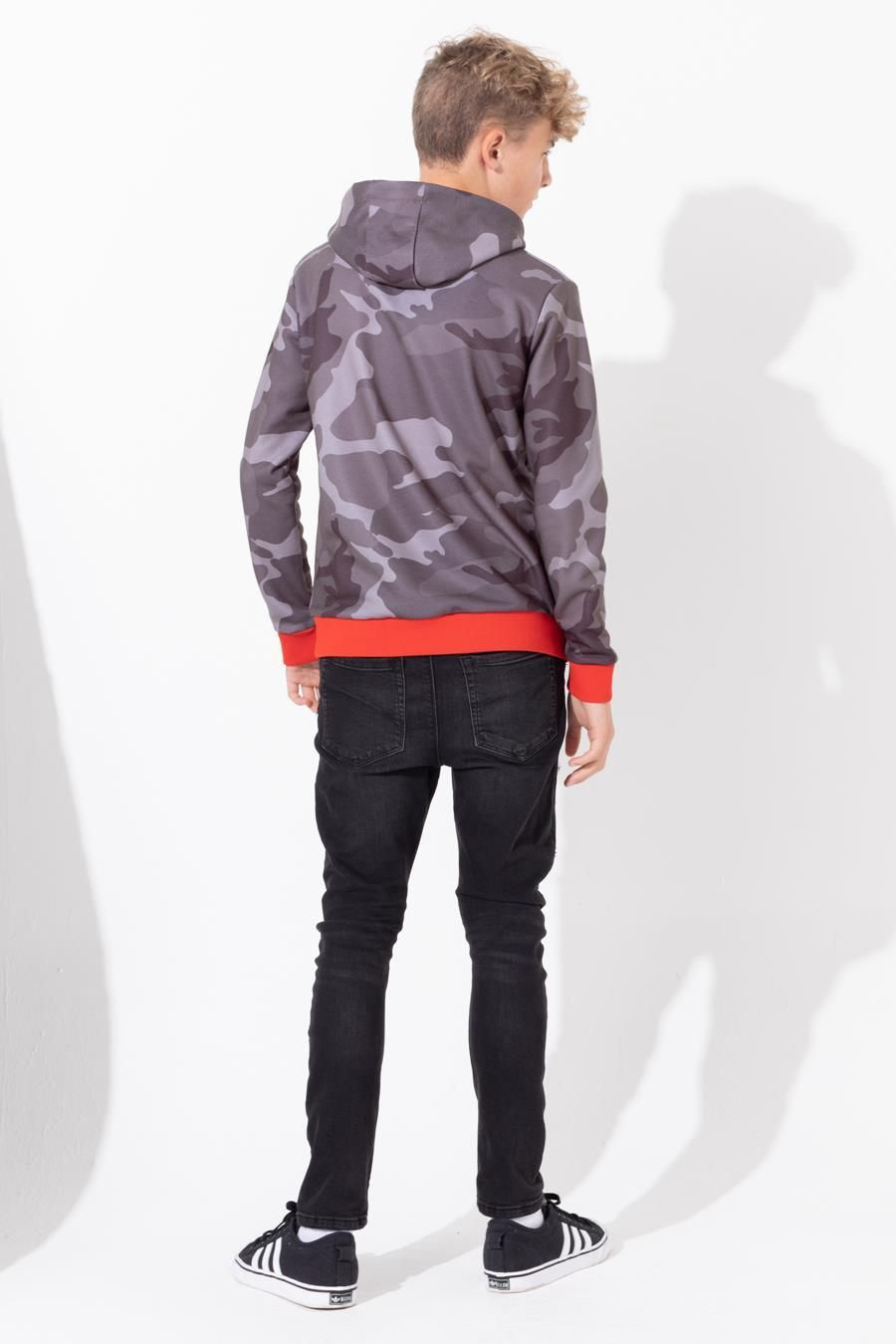 Hype Shadow Camo Kids Pullover Hoodie 9-10Y