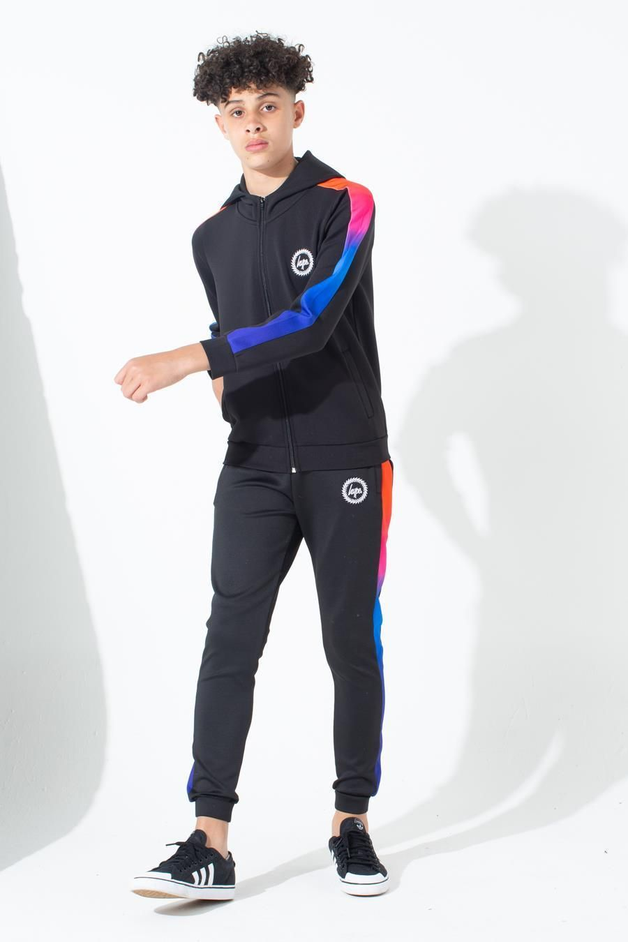 Hype Red Rainbow Kids Track Pants