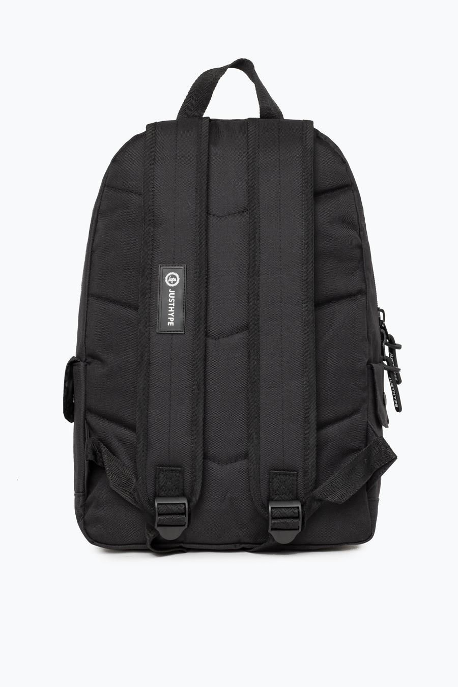 Hype Black Midi Backpack