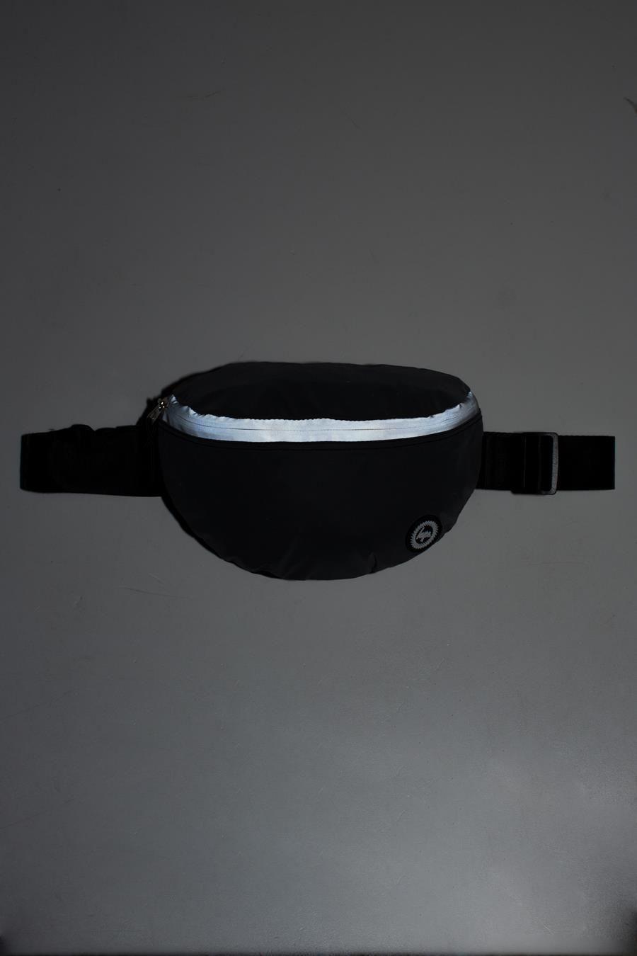 Hype Reflective Charcoal Bumbag