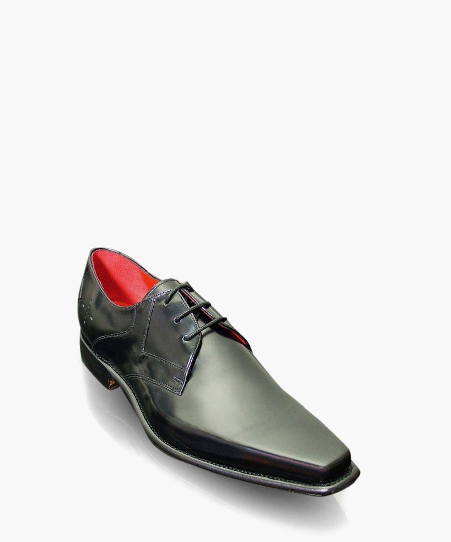 Hemmings Yardbird black leather shoes