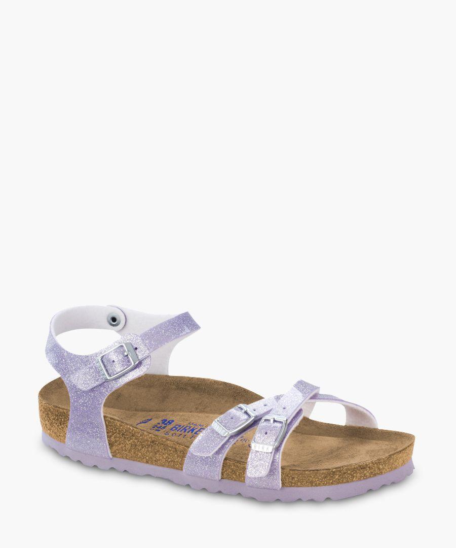 Kumba Magic Galaxy lavender sandals