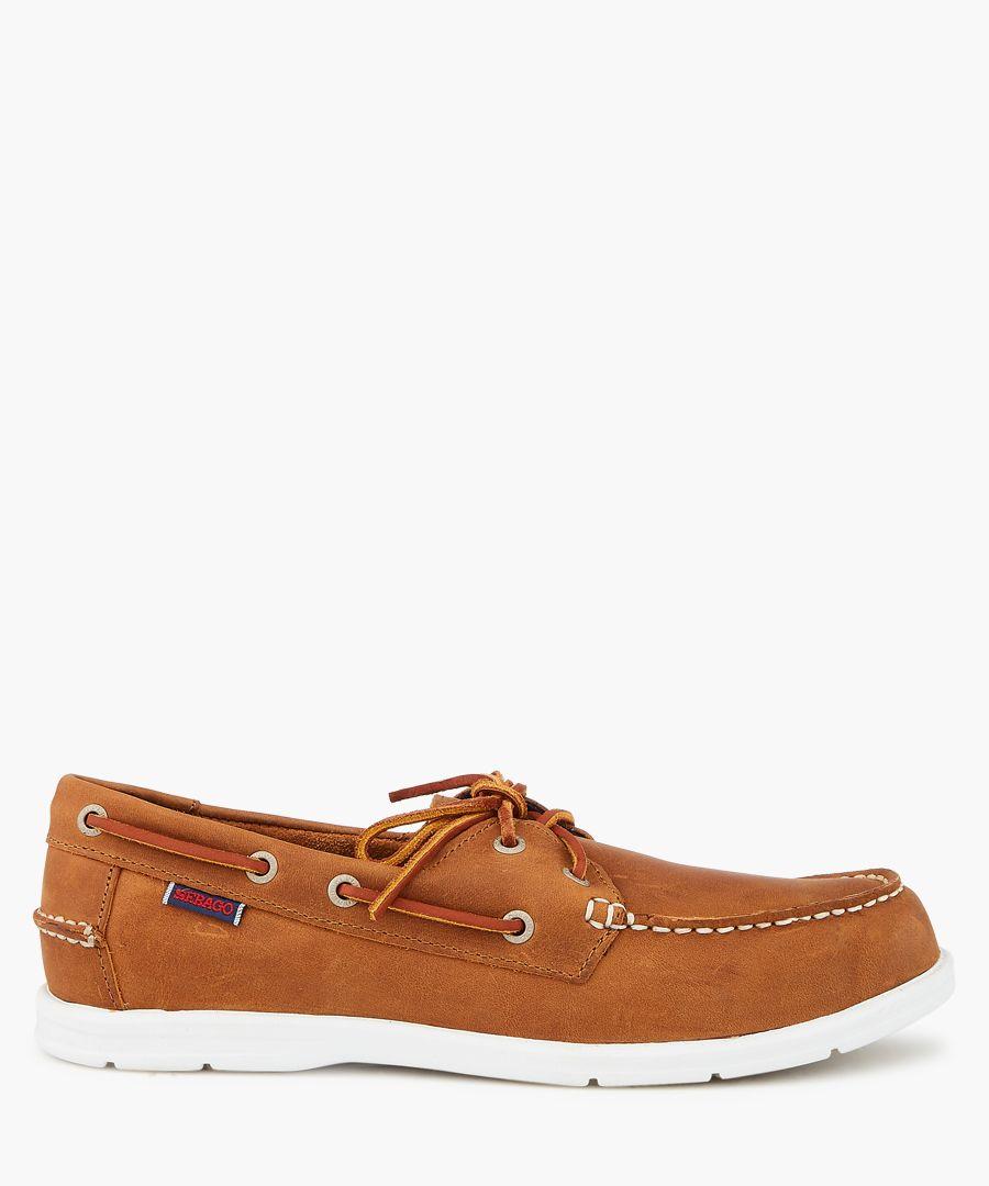 Liteside brown suede boat shoes