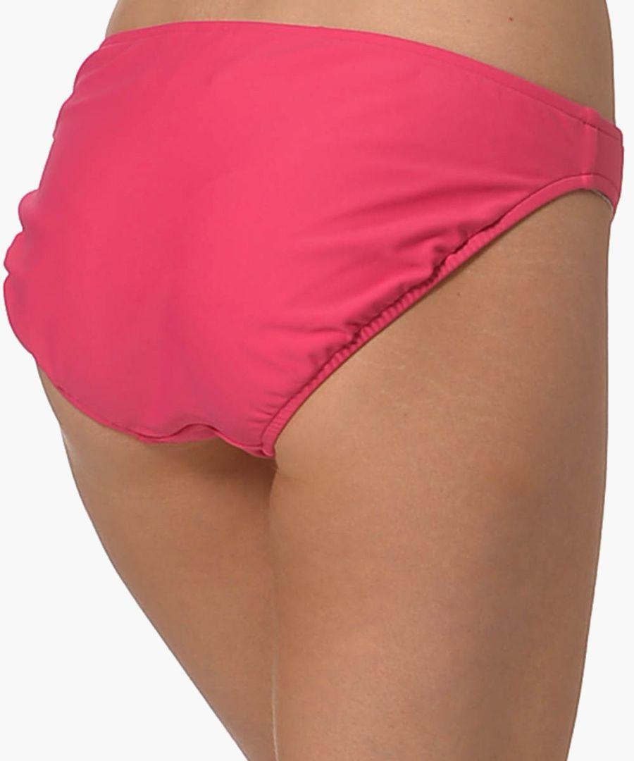 Raspberry bikini briefs