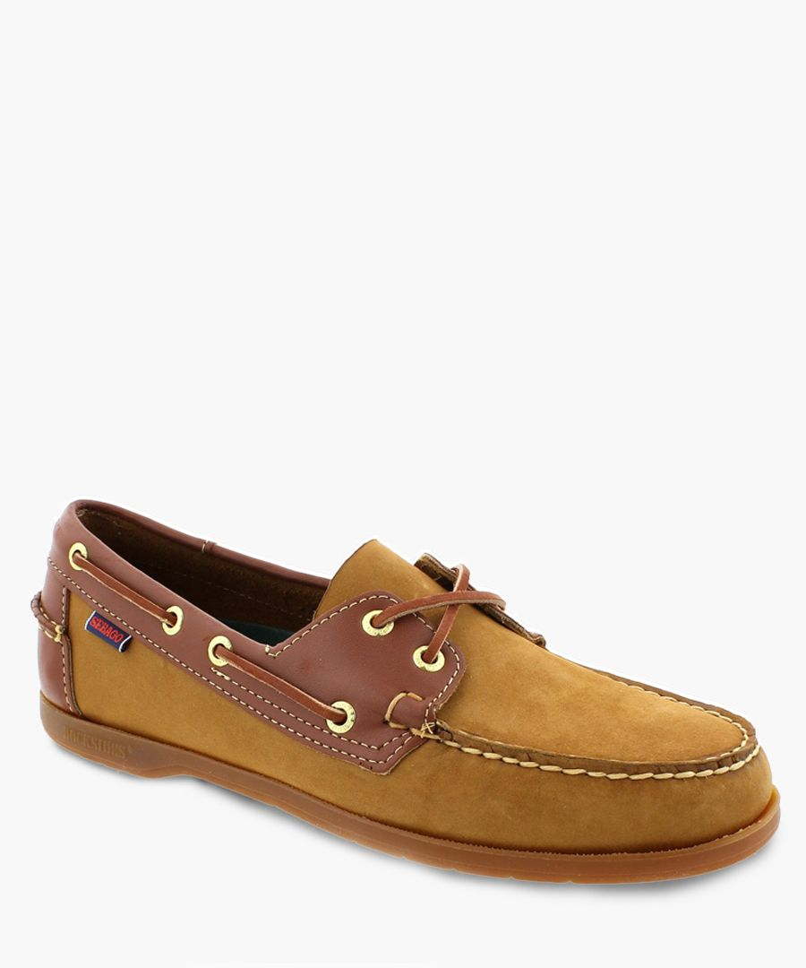 Endeavor brown leather boat shoes