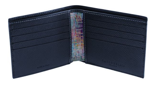 Graffiti Colorama multi-coloured leather patterned wallet