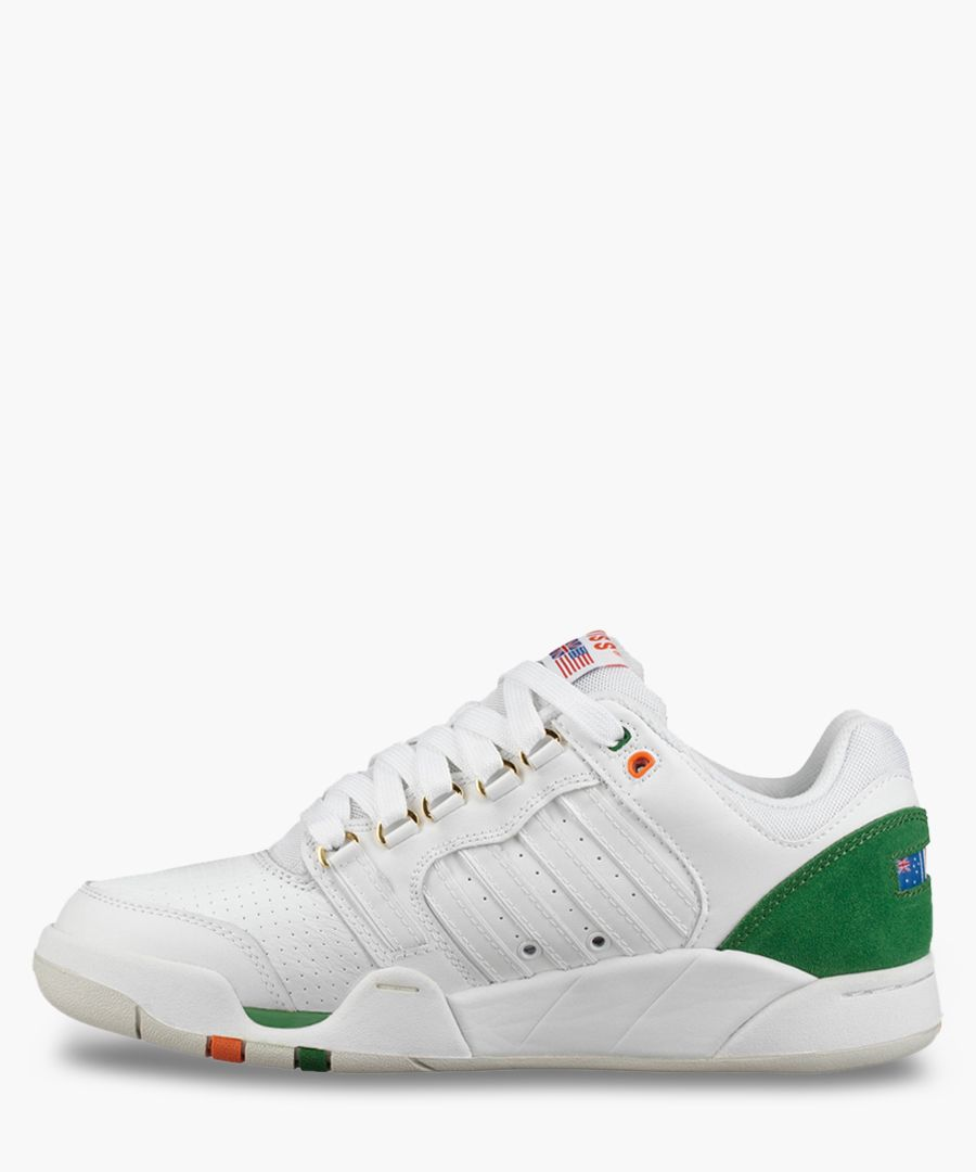 SI-18 heritage white trainers