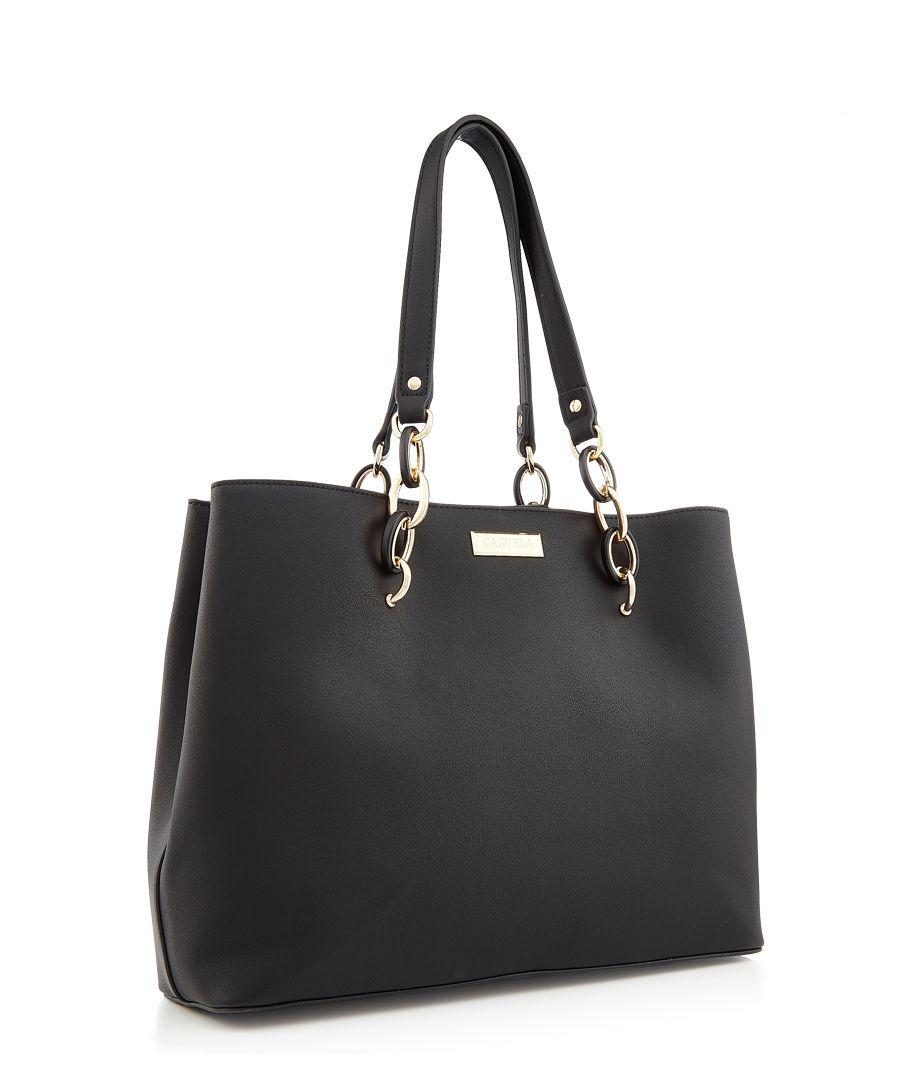 Florence black shopper