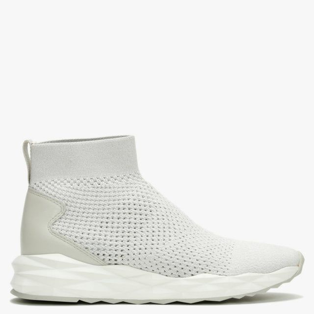 Ash Sound Knitted High Top Trainers