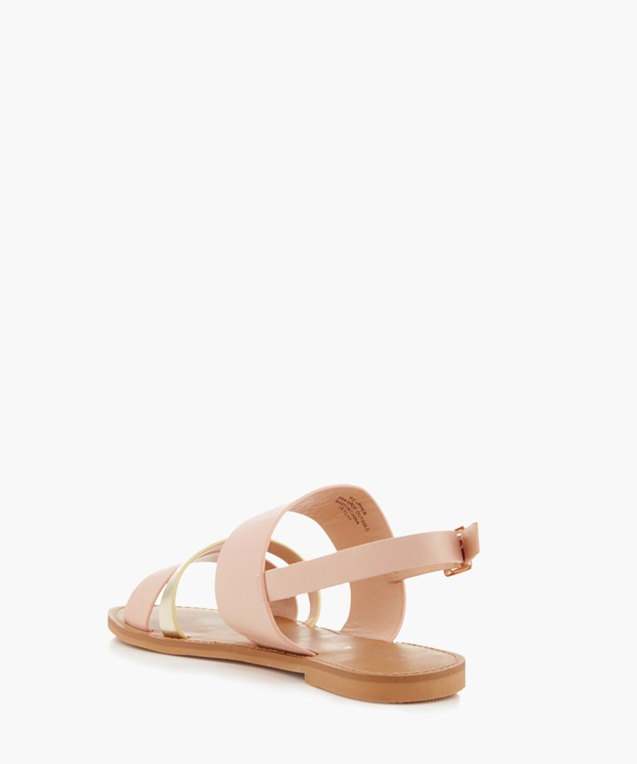 Blink nude strappy sandals