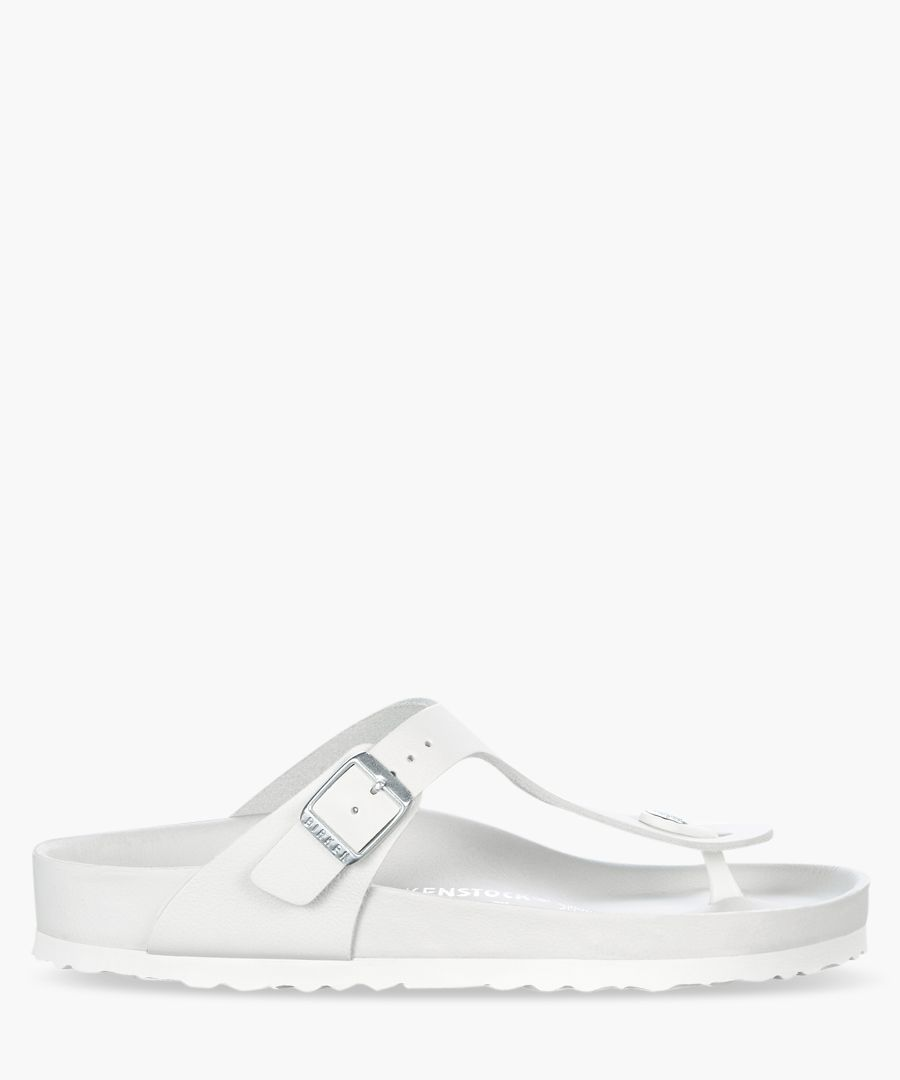 Gizeh white sandals