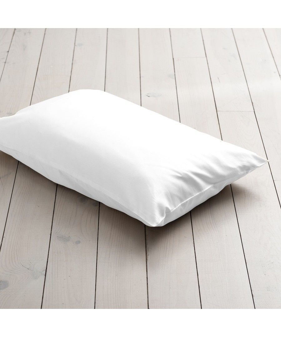 400 Thread Count HOUSEWIFE Pillowcase  - White
