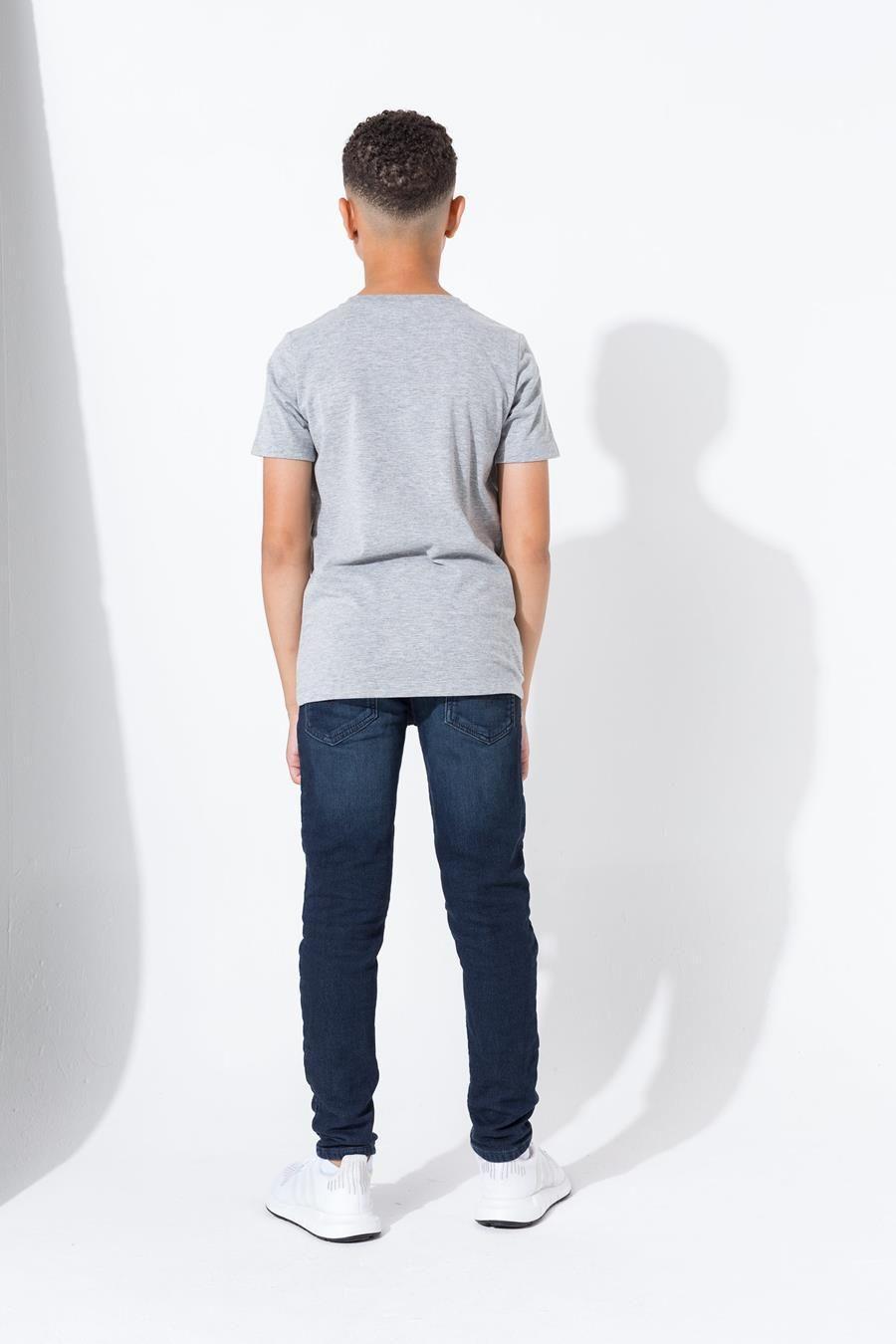 Hype Grey Hype Script Kids T-Shirt