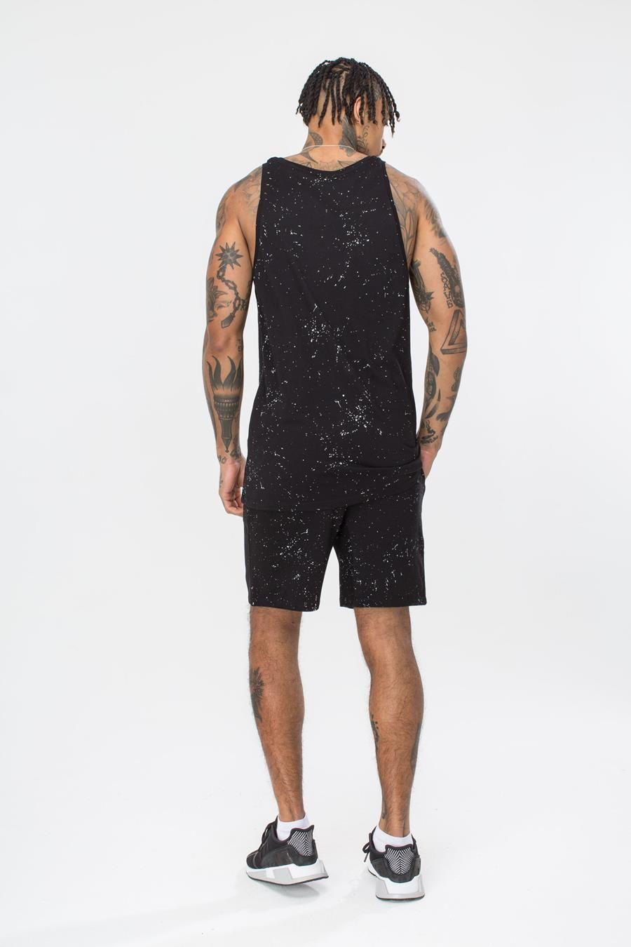 Hype Aop Speckle Mens Shorts