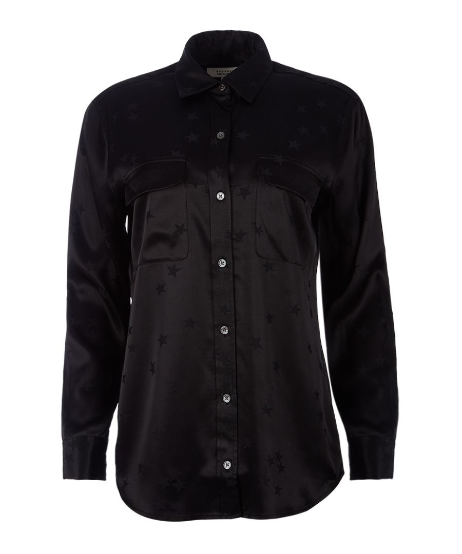 Signature black scatter shirt