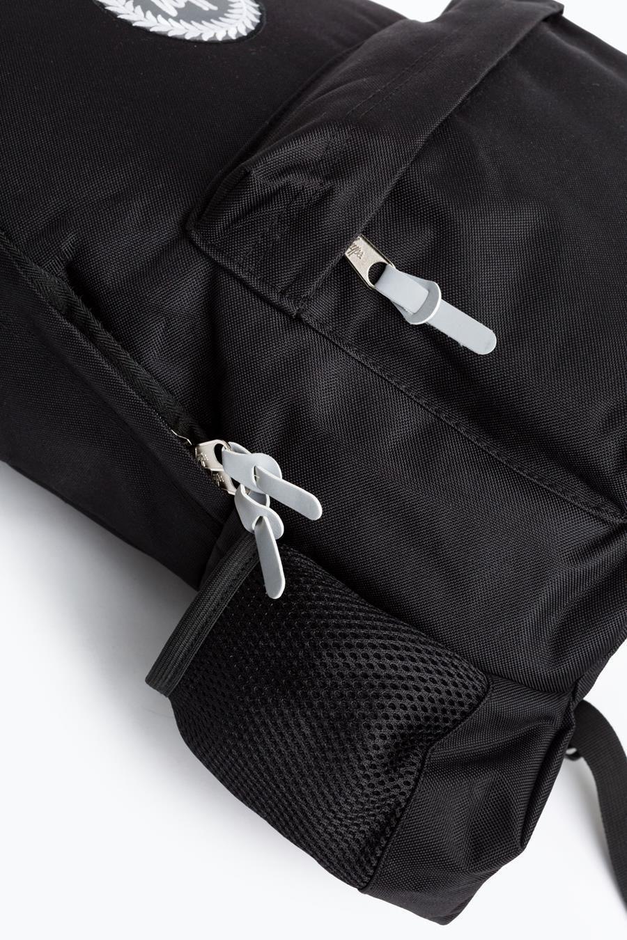 Hype Black Crest Bottle Backpack