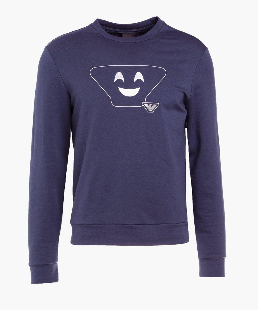 Bluette cotton blend print sweatshirt