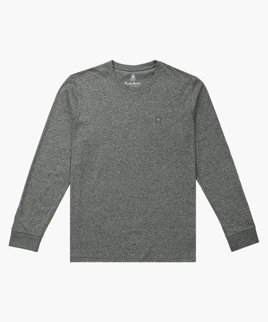 Classic grey pure cotton jumper